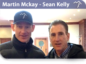 Martin Mckay and Sean Kelly